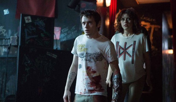 Green Room Anton Yelchin and Alia Shawkat