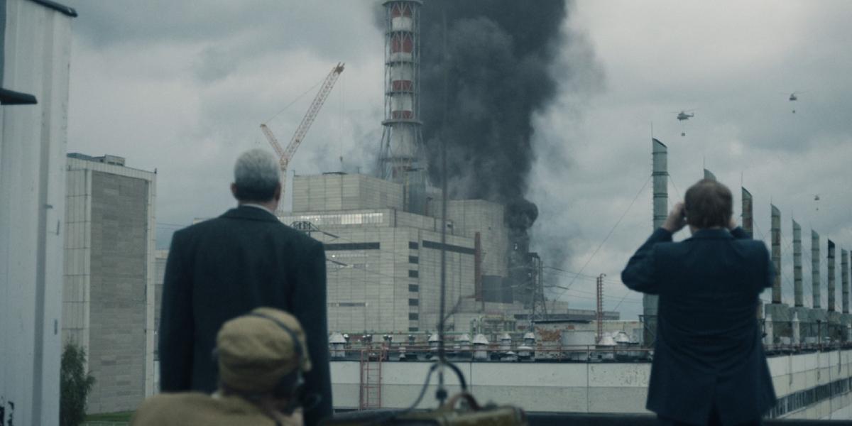 A devastating scene from the historical HBO mini-series Chernobyl