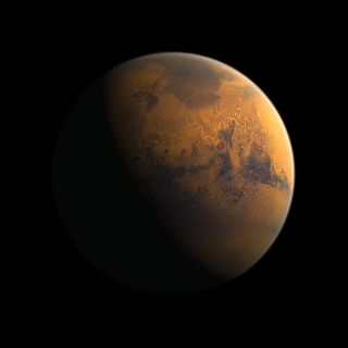 Artist's Impression of Martian Surface