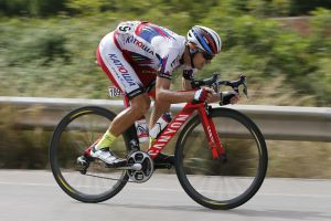 Russian Katusha rider tests positive for banned substance