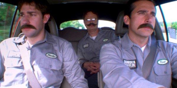 Jim Halpert, Dwight Schrute, and Michael Scott The Office