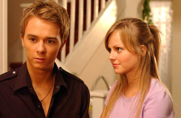 Jack P Shepherd shares adorable snap of himself with Tina O'Brien from 1999 - and they were playing brother and sister then as well!