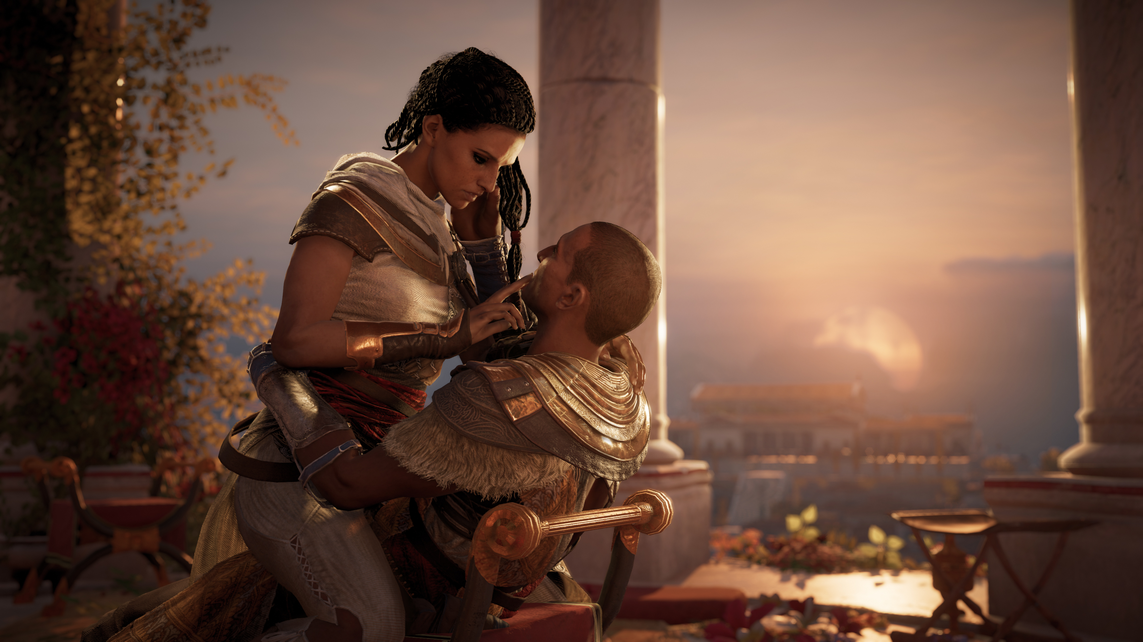 Why A Marriage Is At The Heart Of Assassin S Creed Origins