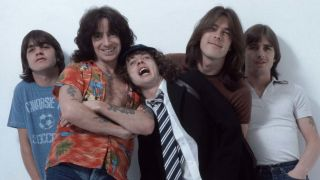 AC/DC with Bon Scott