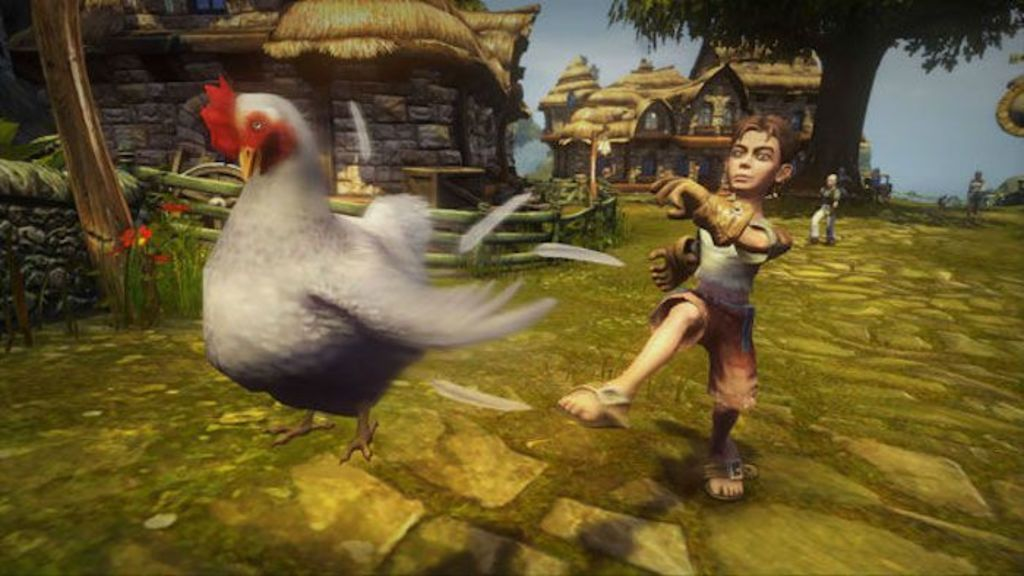 Why the cluck are chickens such cocks in video games? Discovering the science behind the age old question