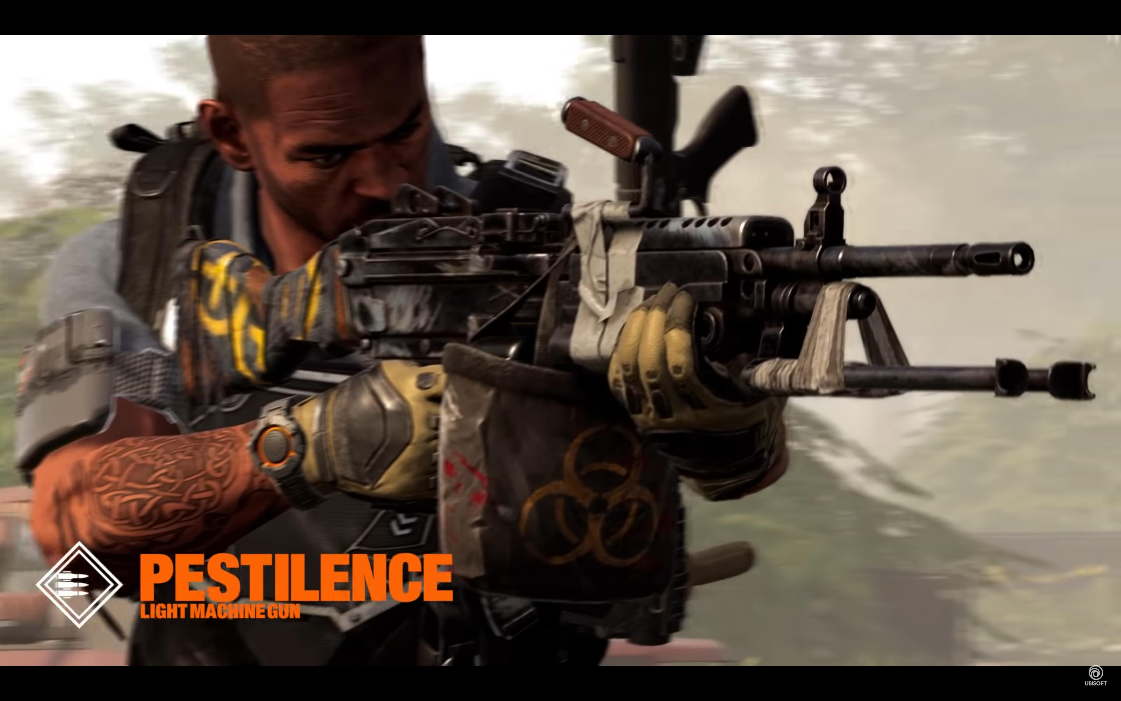 Division 2 Pestilence guide: How to get the Exotic LMG | GamesRadar+