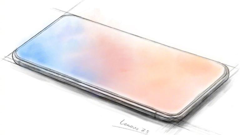 Lenovo Z5 tease