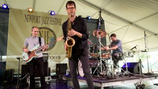 Donny McCaslin Group perform at Newport Jazz Festival 2016