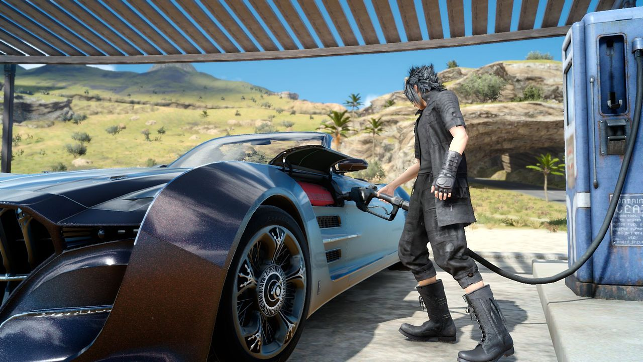 Final Fantasy 15's flying car is coming to FF14 as its first 4