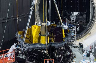 James Webb Space Telescope test