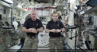 Astronauts on 2016 Olympics screenshot
