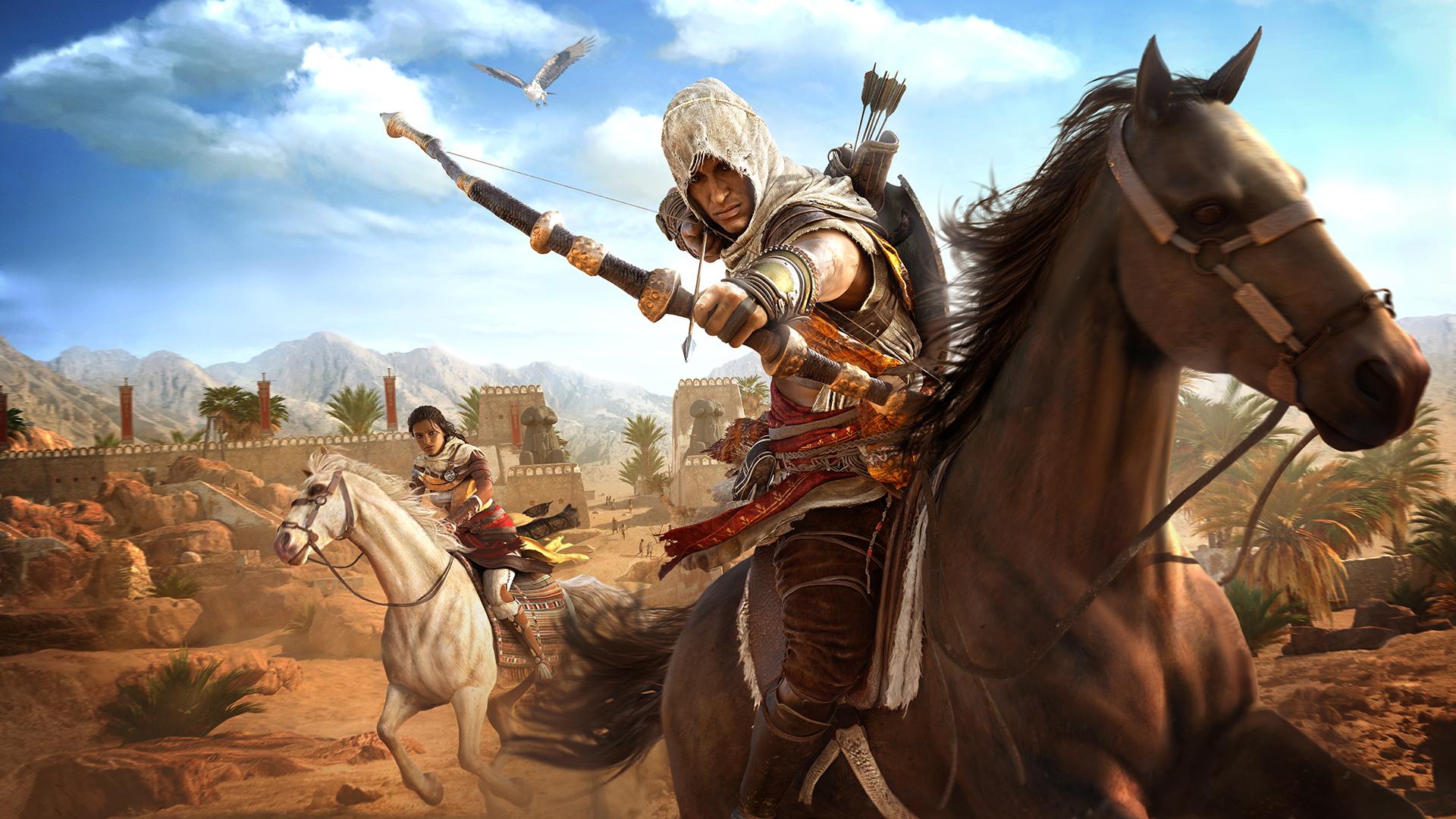 Assassin S Creed Origins Review Gamesradar
