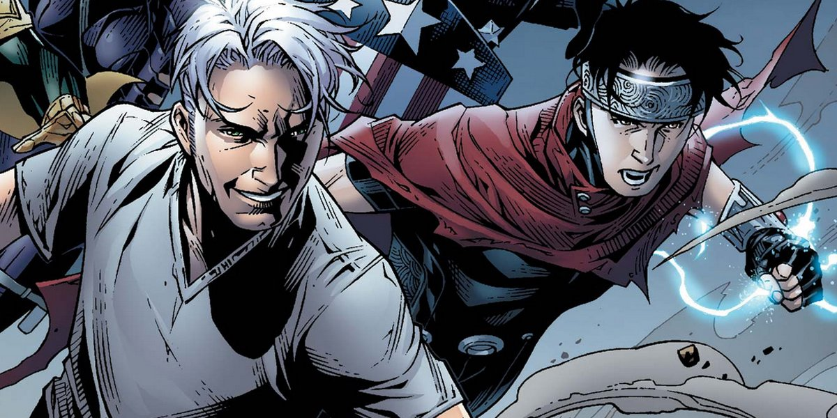 Tommy and Billy Wiccan and Speed Young Avengers