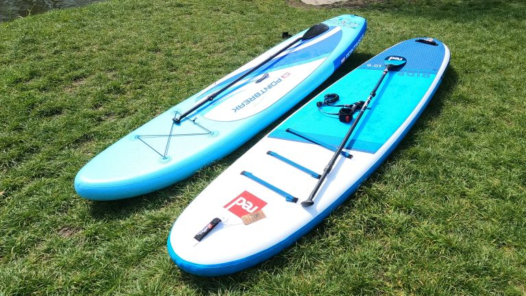 Red Paddle Co Ride MSL vs MY Point Break 10' paddleboard