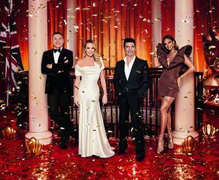 Britain's Got Talent judges David Walliams, Amanda Holden, Simon Cowell and Alesha Dixon