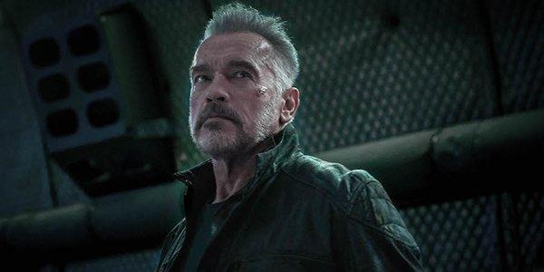 Arnold Schwarzenegger as the T-800 in Terminator: Dark Fate