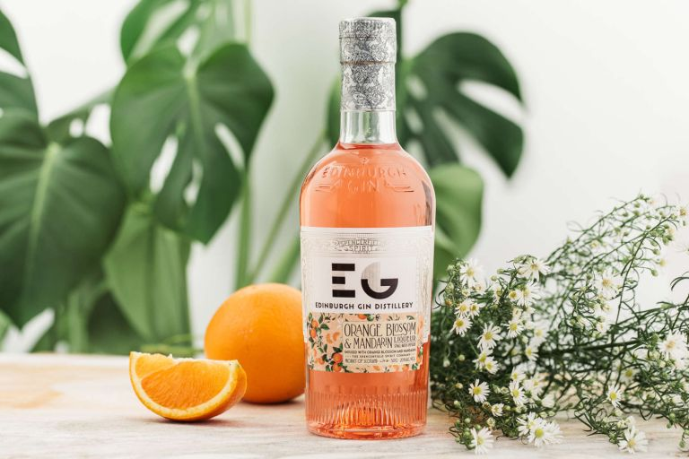 Edinburgh Gin orange blossom and mandarin liqueur
