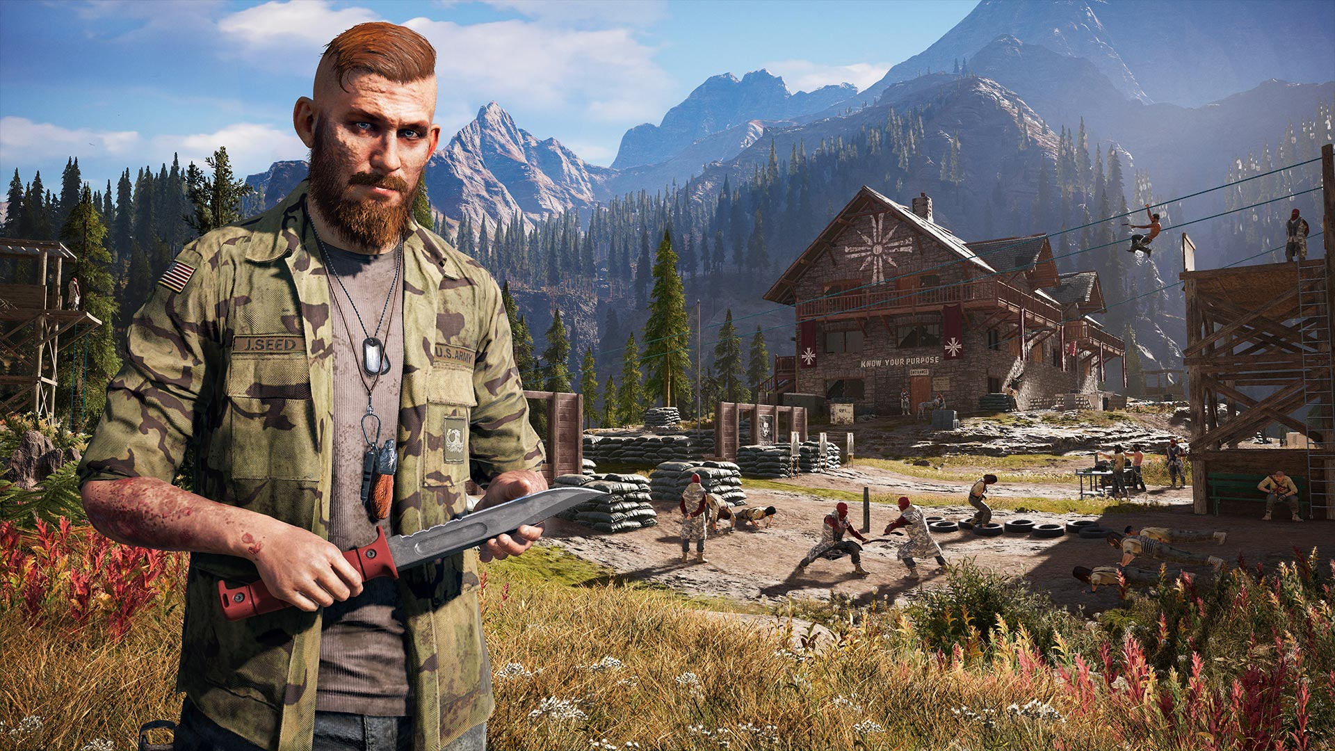 Far Cry 5 Hands-On: A Co-Op Blast with a Cult Twist | Tom's Guide