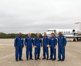 Atlantis Shuttle Astronauts Prepare for Nov. 16 Launch
