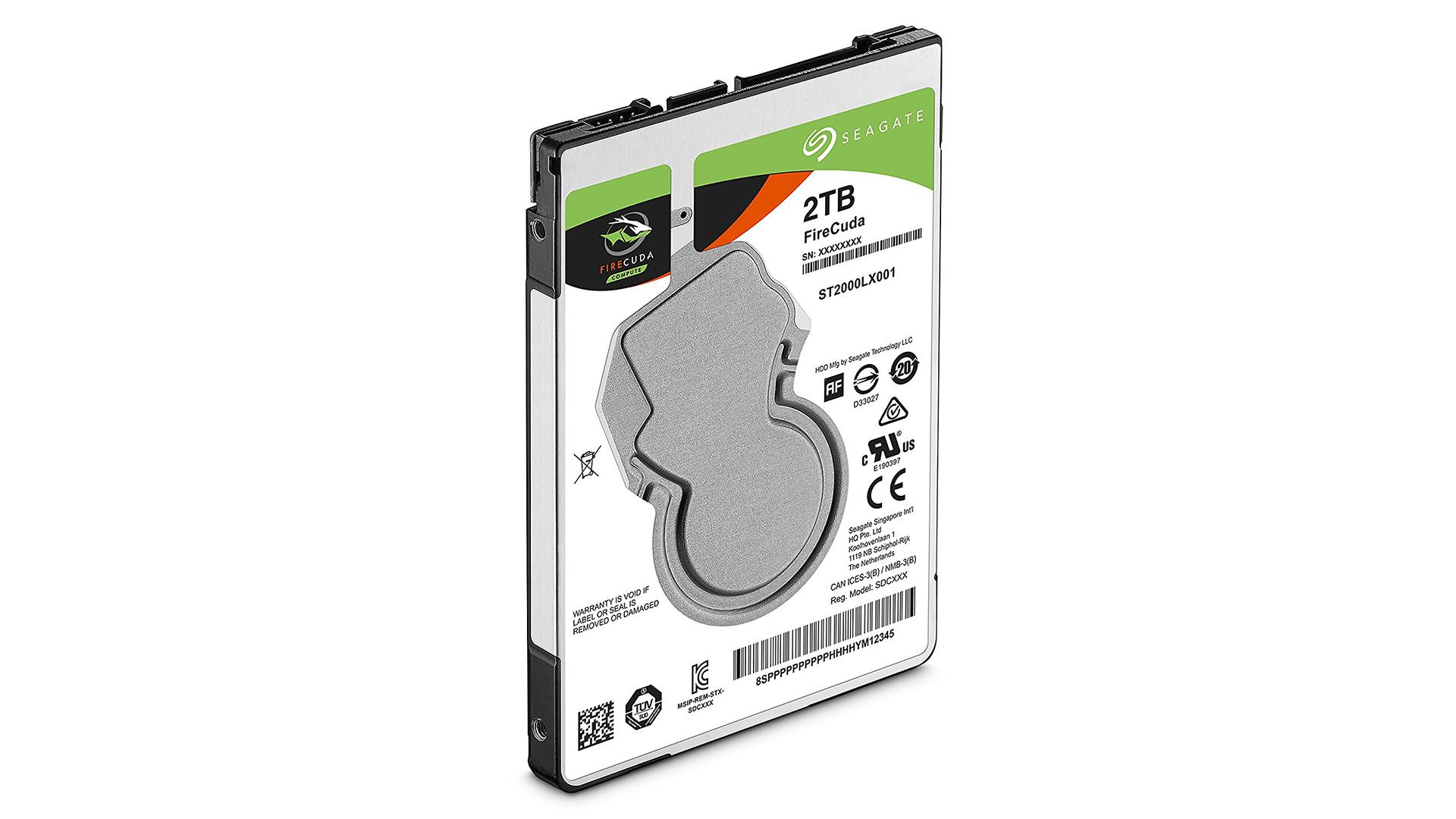 Best laptop hard drive: Seagate FireCuda Mobile