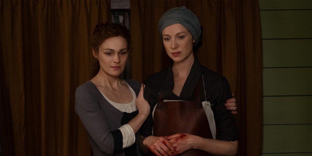 stars outlander season 5 brianna claire blood
