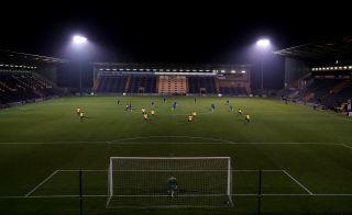 Colchester United v Southend United – Papa John's Trophy – Southern Group A – JobServe Community Stadium
