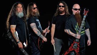 Slayer press shot