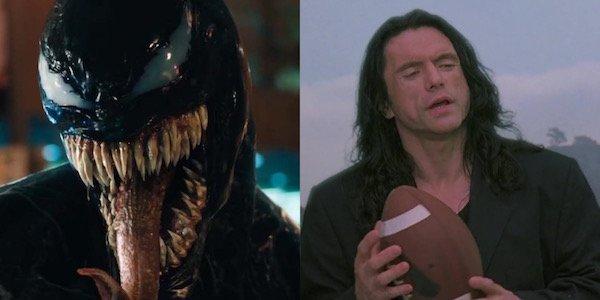 Venom and Tommy Wiseau