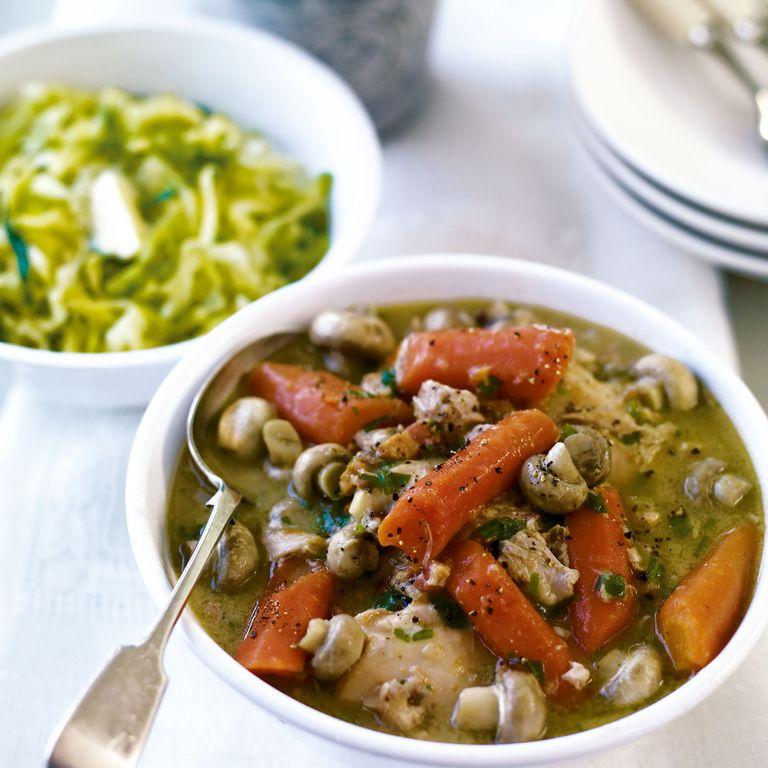 Tarragon Chicken and Cider Casserole recipe-chicken recipes-recipe ideas-new recipes-woman and home