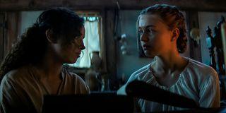 Kiana Madeira and Olivia Scott Welch In Fear Street Part 3: 1666