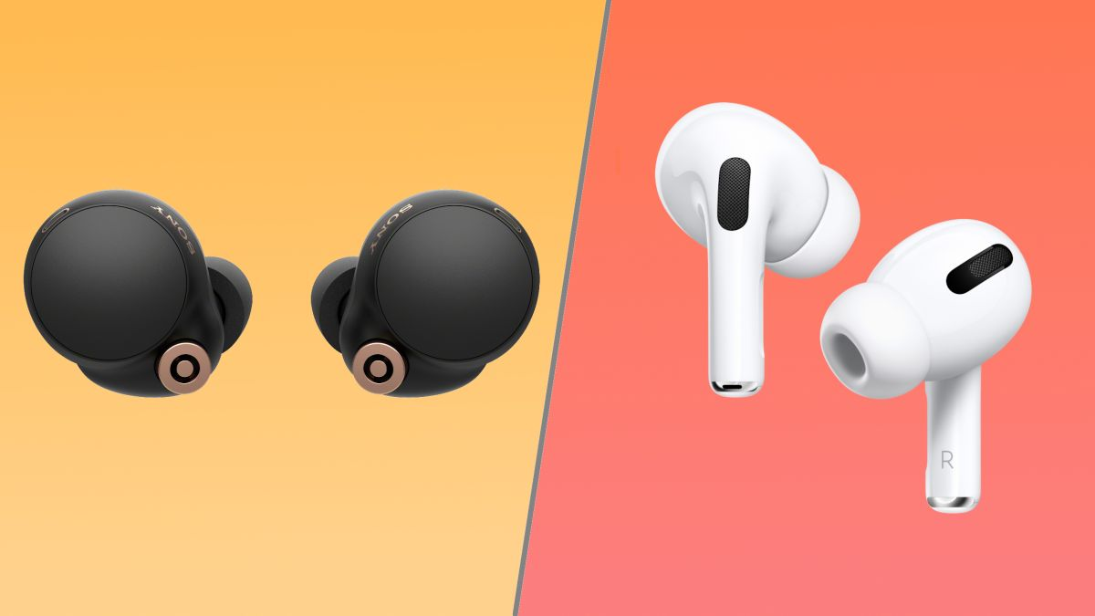 Sony WF-1000XM4 vs. AirPods Pro: How the noise-cancelling earbuds stack up