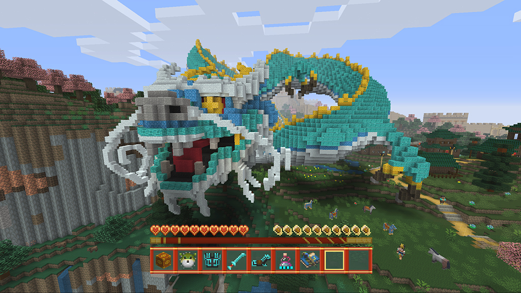 Minecon Minecraft Console Edition Gets Polar Bears And - Skins gratis minecraft xbox 360
