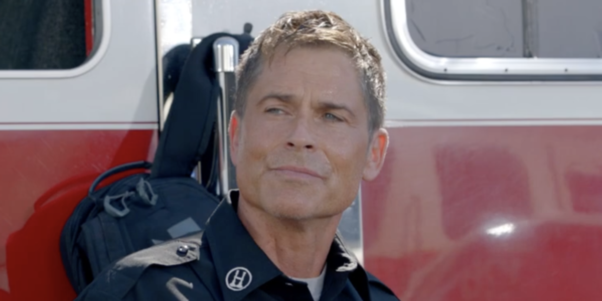 It's 9-1-1: Lone Star's Rob Lowe Vs. A Volcano In Wild Season 2 Trailer
