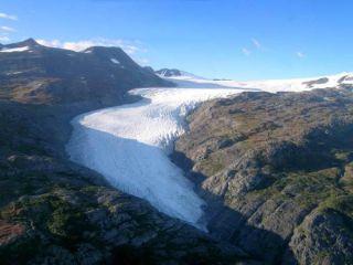 Wolverine glacier