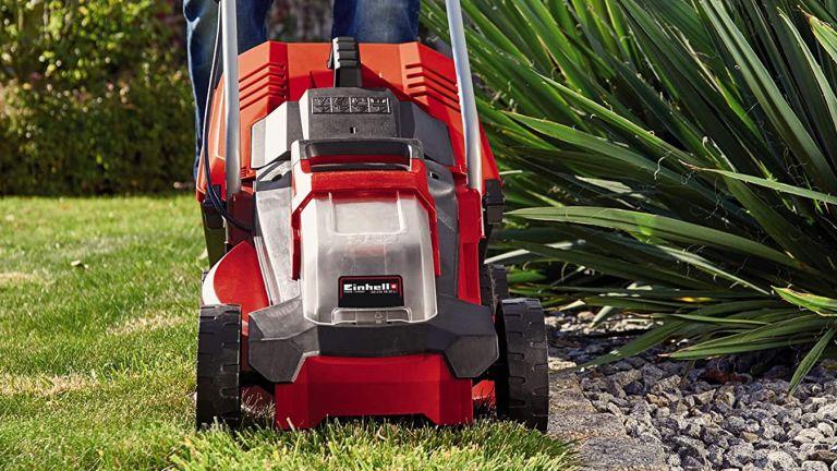 Einhell lawn mower deal