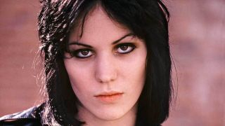 a portrait of a young joan jett
