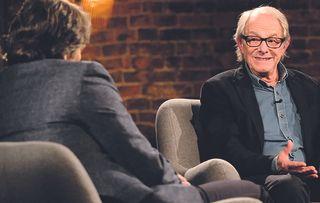 John Bishop's guest this week is award-winning film director Ken Loach