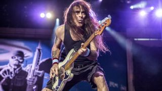 Iron Maiden's Steve Harris