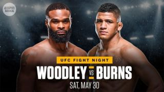 watch Burns vs Woodley: Fight Night online