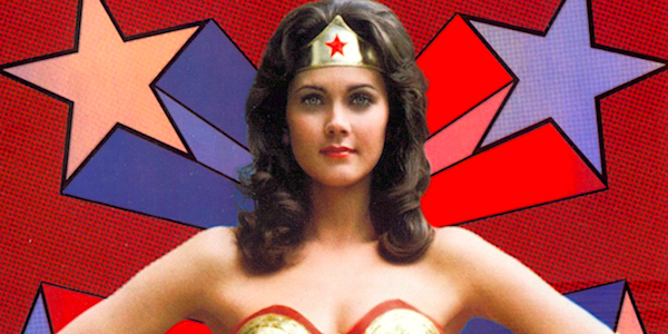Lynda Carter as Wonder Woman in the 1970's TV Show