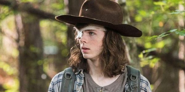 the walking dead chandler riggs carl forest