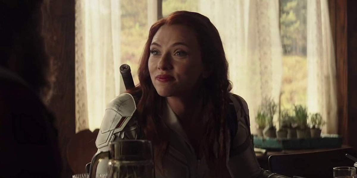 Scarlett Johansson as Natasha Romanoff in Black Widow solo film 2020