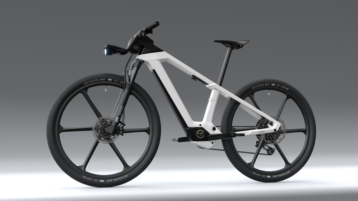 Bosch unveils futuristic electric bike with integrated ABS and on-board computer