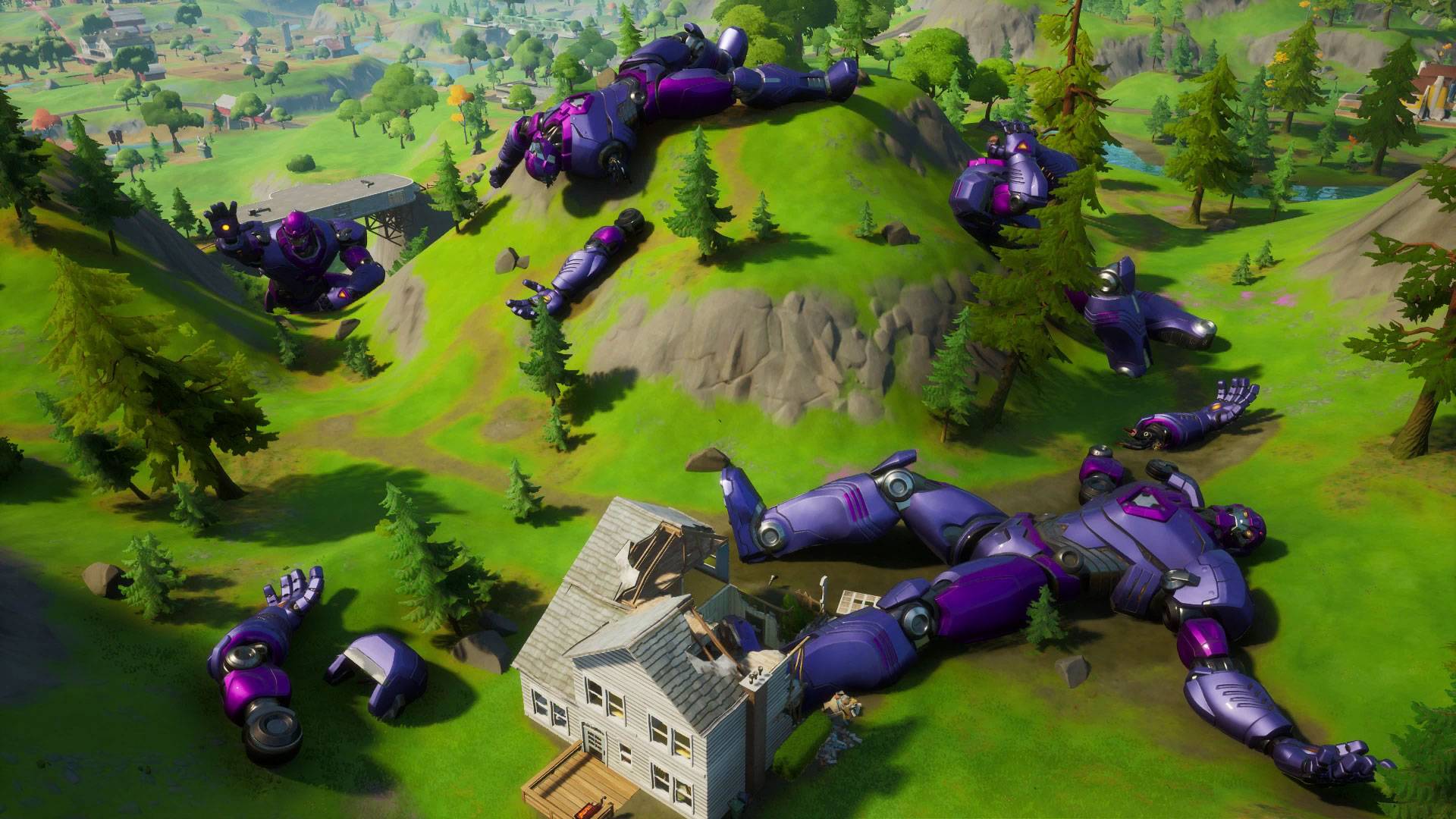 How To Dance With Your Pick Out Fortnite Fortnite Sentinel Graveyard Location Where To Dance On Top Of Different Sentinel Heads Gamesradar