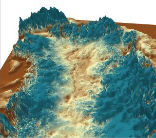 Greenland's longest canyon