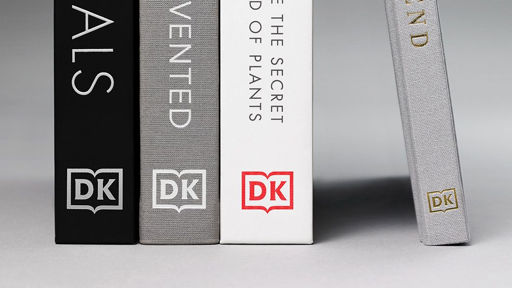 New DK logo is clean, modern and keeps those serifs – hurray!