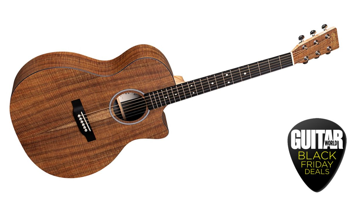 Save $120 on a Martin GPC Special Koa X Series acoustic-electric in this killer early-Black Friday deal