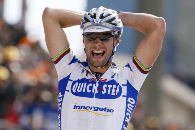 A very happy Tom Boonen, winner of Paris-Roubaix