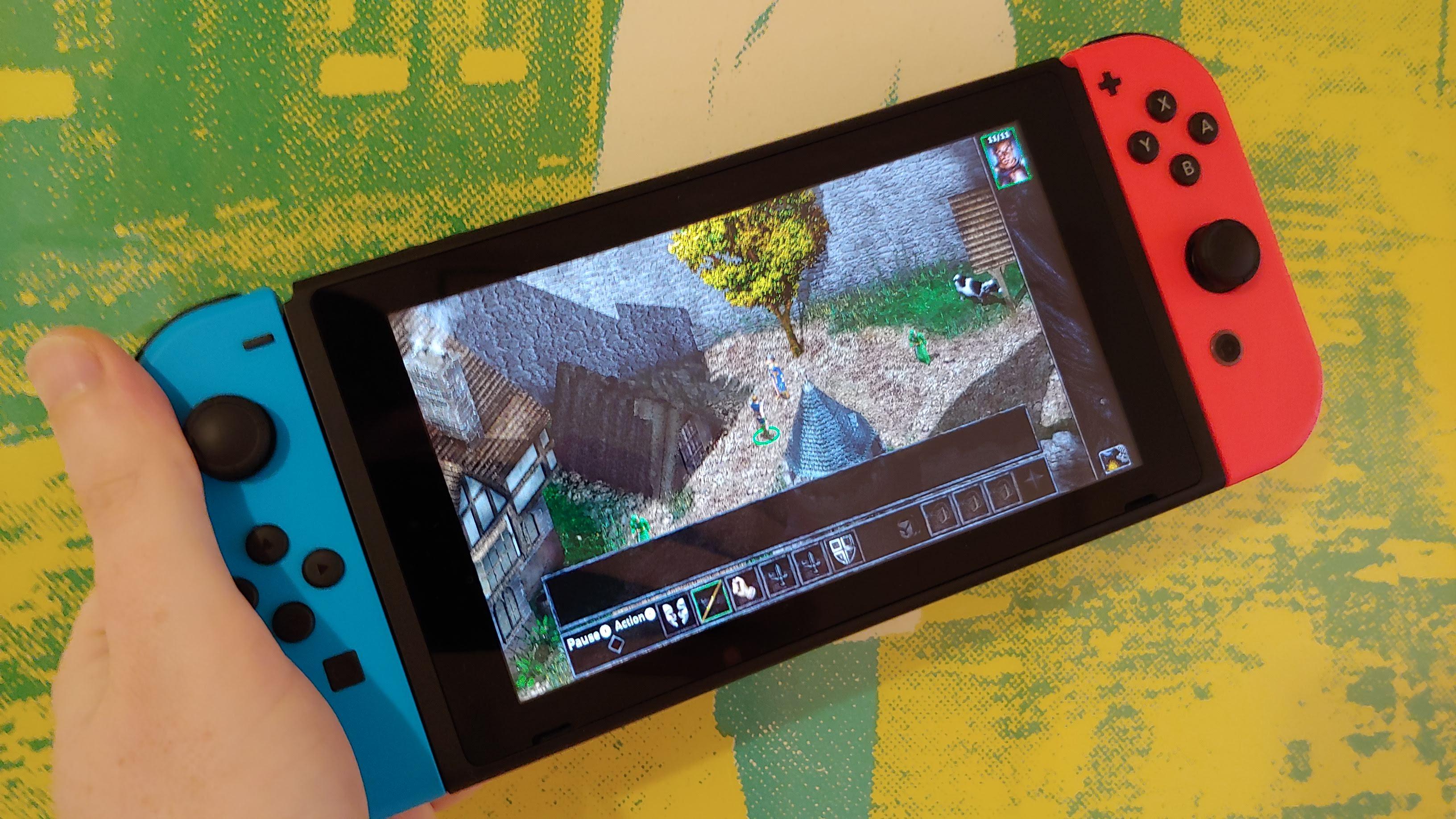 Baldur S Gate For Nintendo Switch Is A Dungeon Master Crpg