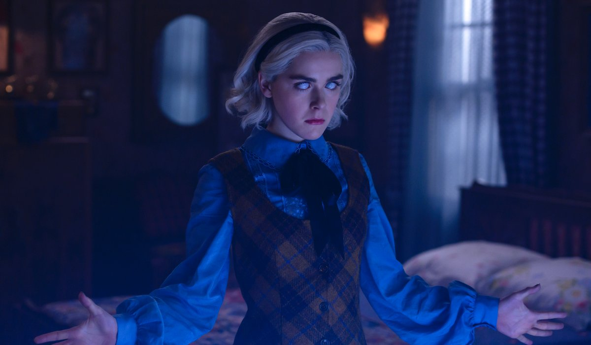 chilling adventures of sabrina white eyes